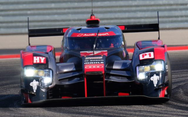 Audi R18.  [Jack Webster Photo]