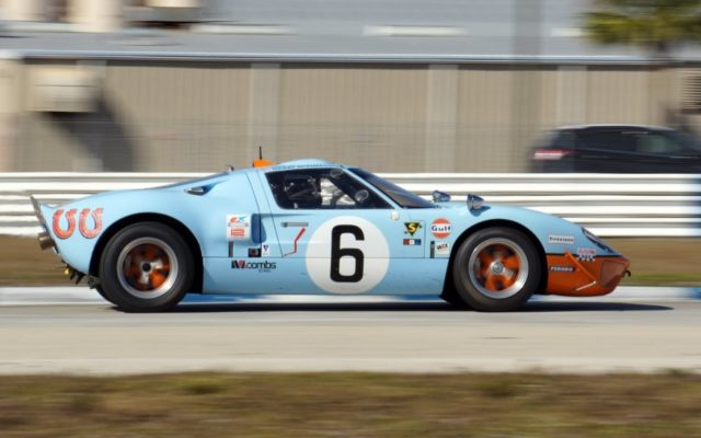 Gulf Ford GT40.  [Photo by Jack Webster]