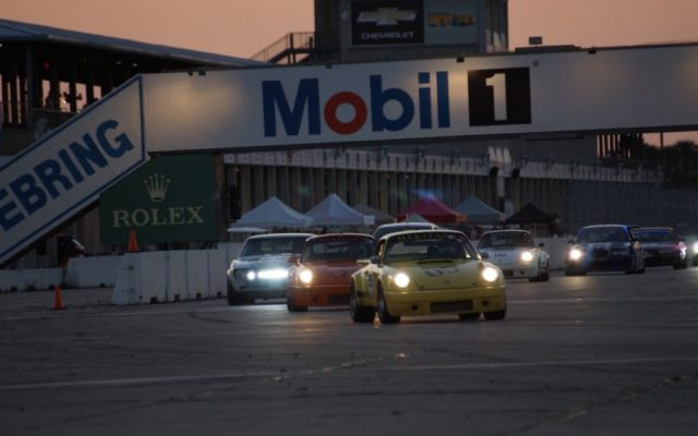 Sebring race action.  [Photo by Jack Webster]