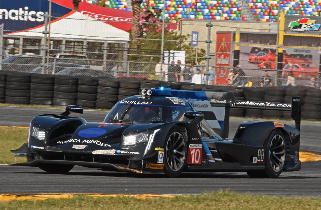 Wayne Taylor Racing's new Cadillac DPi in action. [Joe Jennings Photo]