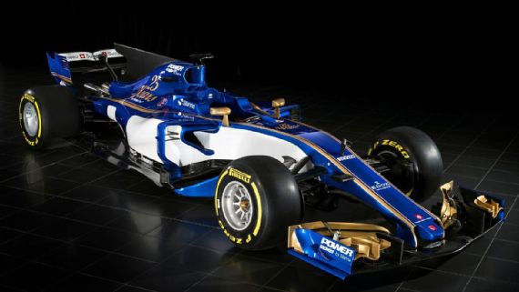 The 2017 Sauber C36-Ferrari. [Photo courtesy of Sauber Motorsport]