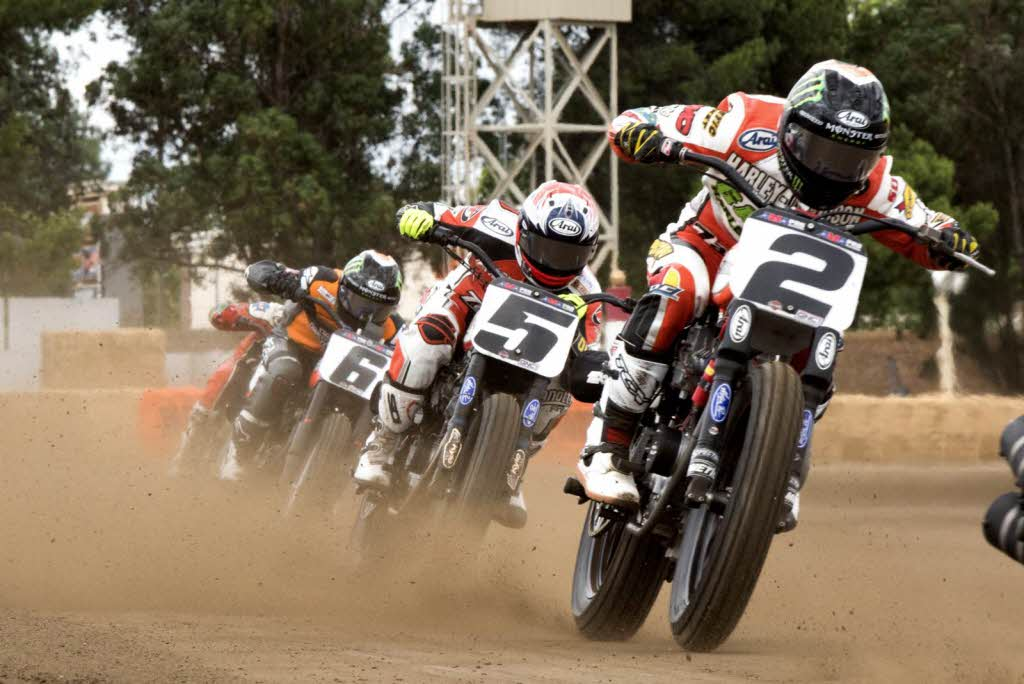 [photo courtesy of American Flat Track/Dave Haughs]
