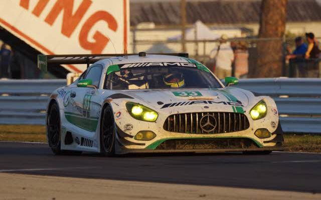 GTD class winning Mercedes.  [Photo by Jack Webster]
