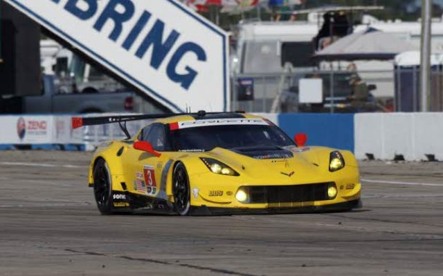 GTLM Class winning Corvette.  [Photo by Jack Webster]