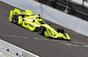 Two-time IndyCar Grand Prix winner Simon Pagenaud during practice. [John Wiedemann Photo]