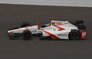 Speedster Sebastien Bourdais was class of field on Fast Friday at Indy. [Joe Jennings Photo]