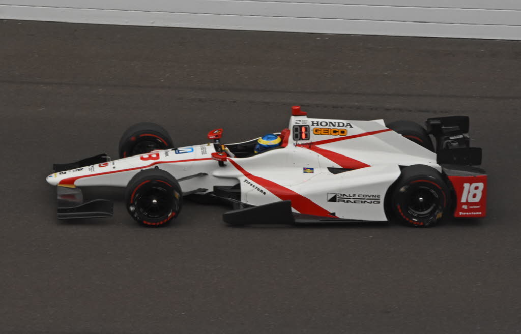 Speedster Sebastien Bourdais was class of field on Fast Friday at Indy. [Joe Jennings Photo]