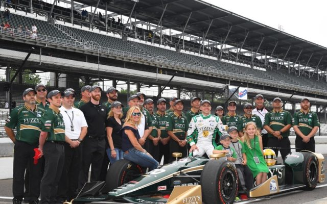 Fast Time Ed Carpenter with Crew & Family.  [Russ Lake Photo]