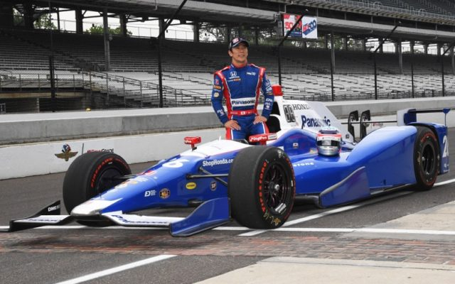 Takuma Sato was the 2nd fastest in qualifying.  [Russ Lake Photo]