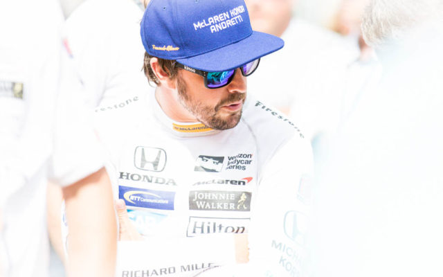Fernando Alonso.  [Andy Clary Photo]