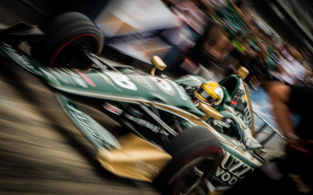 Fast Ed Carpenter.  [Andy Clary Photo]
