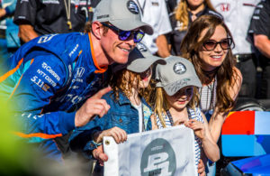 Scott Dixon scored the pole for the 2017 Indianapolis 500. [Andy Clary Photo]