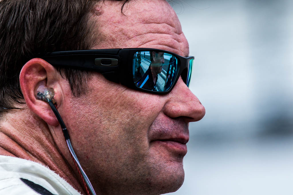 Buddy Lazier at the Indianapolis Motor Speedway. [Andy Clary Photo]