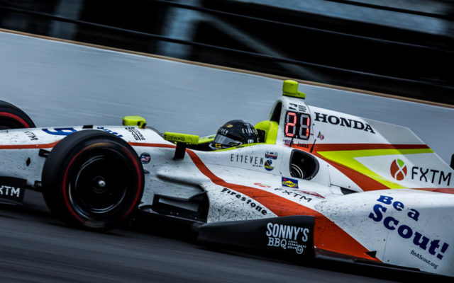 Rookie Ed Jones finished 3rd in the Indianapolis 500.  [Andy Clary Photo]