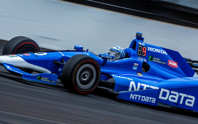 Tony Kanaan finished 5th at Indy.  [Andy Clary Photo]