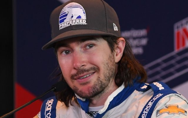 JR Hildebrand ran 54 laps in practice and was the third quickest in his No. 21 Preferred Freezer Services Chevrolet at 220.553 mph. [Russ Lake Photo]
