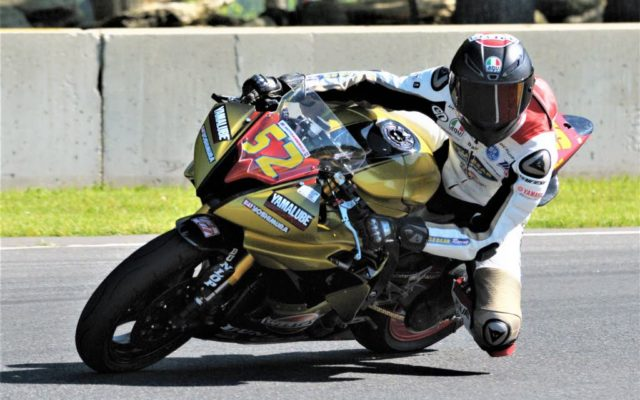 #52 Nolan Lamkin (YAMAHA YZF-R6) in turn 6 at Road America on Friday.  [Dave Jensen Photo]