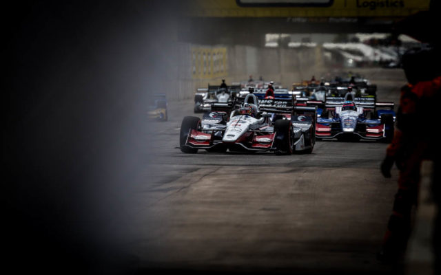 The start of the Chevrolet Detroit Grand Prix presented by Lear.  [Andy Clary Photo]