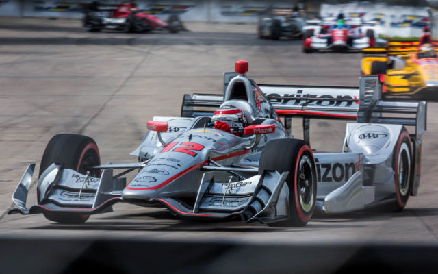 Will Power in the Detroit Grand Prix.  [Andy Clary Photo]