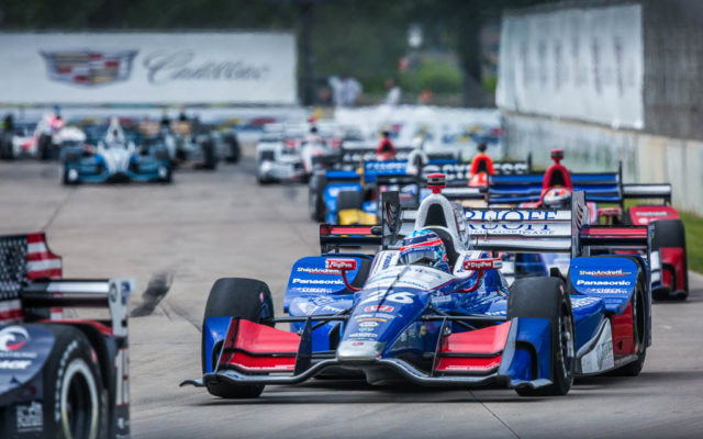 Takuma Sato in the Chevrolet Detroit Grand Prix presented by Lear.  [Andy Clary Photo]