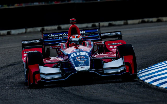 Alexander Rossi.  [Andy Clary Photo]