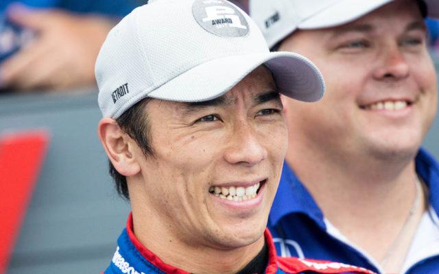 Takuma Sato, P1.  [Andy Clary Photo]