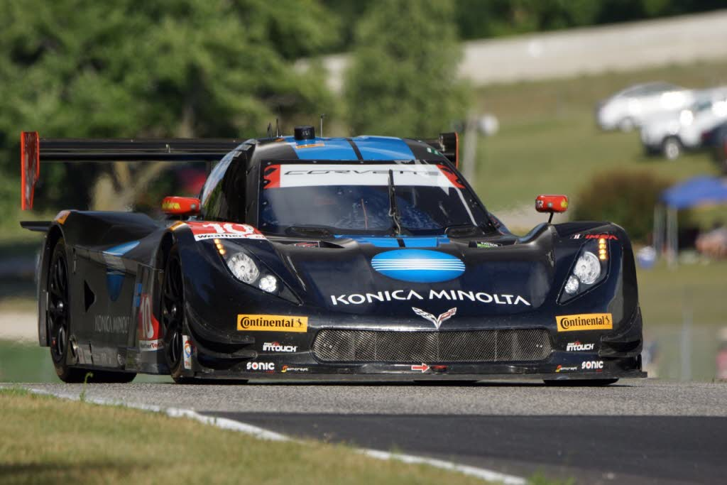 Wayne Taylor Racing Corvette DP at Road America in 2016. [Photo by Jack Webster]