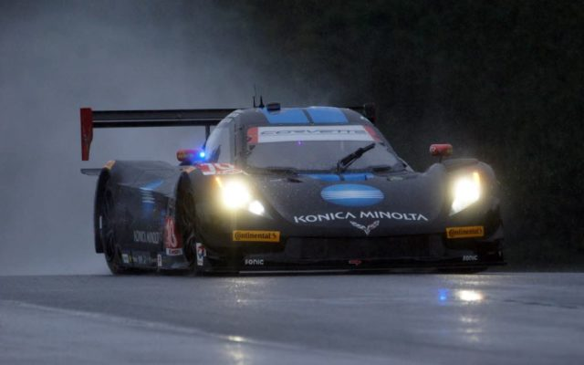 Wayne Taylor Racing Corvette DP at Petit Le Mans in 2015.  [Photo by Jack Webster]