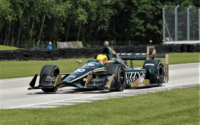 Auto racing: Scott Dixon claims 1st career IndyCar win at Road America