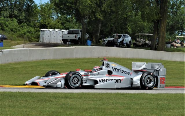 Scott Dixon spoils Penske party to win at Road America