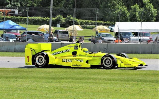 Castroneves leads Penske march at Road America qualifying class=
