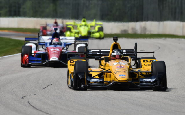 Dixon grabs first win of season