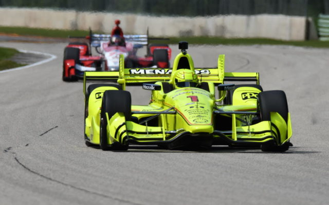 Dixon spoils Penske party at Road America
