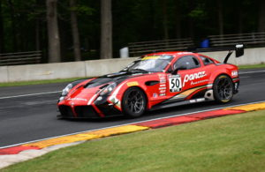 Ian James runs through turn six at Road America in the new Panoz Avezzano GT. [John Wiedemann Photo]