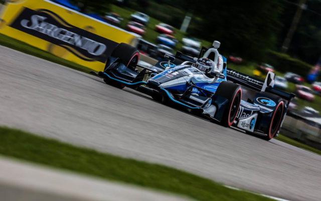 Max Chilton had a great run at Road America.  [Andy Clary Photo]