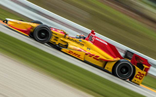 Ryan Hunter-Reay.  [Andy Clary Photo]