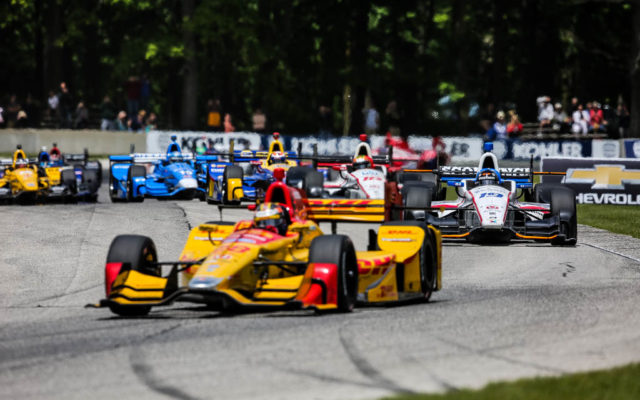 The field races through turn six at Road America.  [Andy Clary Photo]