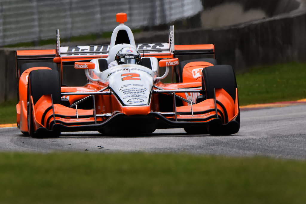 Josef Newgarden at Road America. [John Wiedemann Photo]