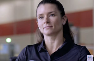 Danica Patrick talks with Mobil 1 The Grid