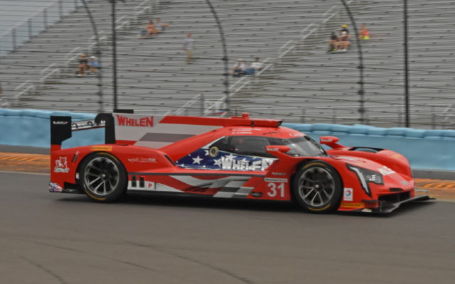 Patriotism reigned supreme with the liveries at Watkins Glen:  Whelen Engineering.  [Joe Jennings Photo]