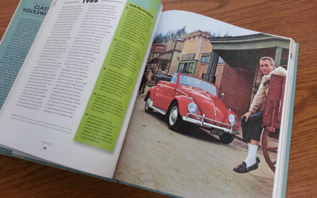 Paul Newman in a VW ad – The Complete Book of Classic Volkswagens