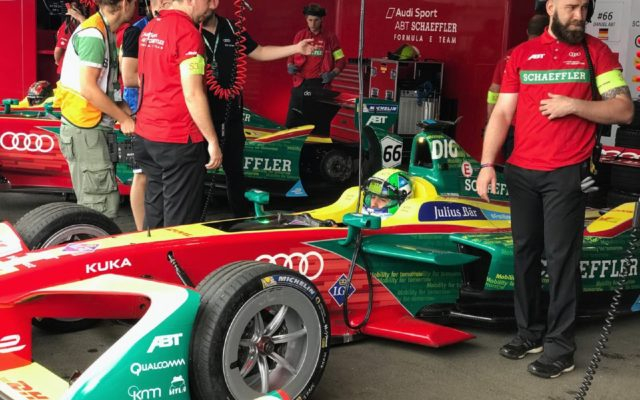 Lucas di Grassi, ready to go. [Eddie LePine Photo]