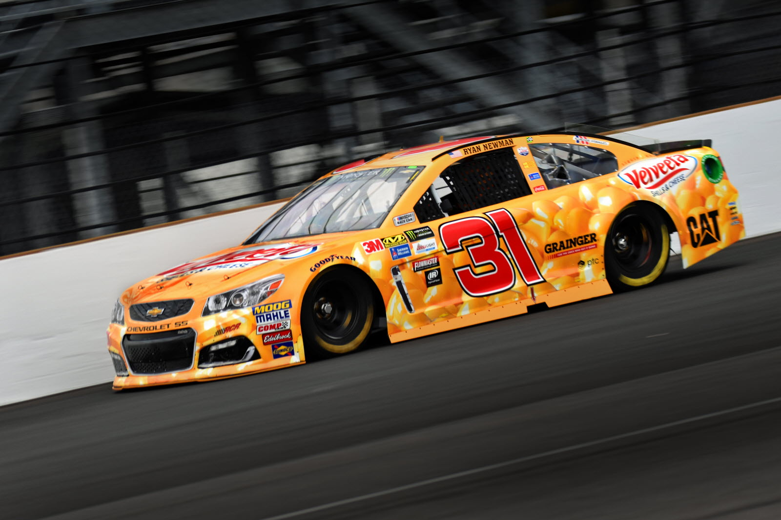 Ryan Newman is looking for his second Brickyard 400 victory at Indianapolis. [John Wiedemann Photo]