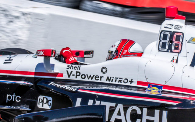 Helio Castroneves   [Andy Clary Photo]