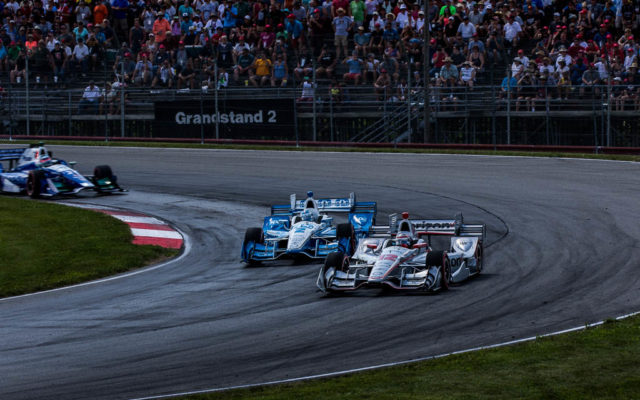 Will Power and Josef Newgarden  [Andy Clary Photo]