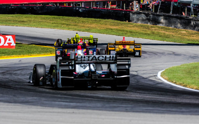 Team Penske and Team Andretti   [Andy Clary Photo]