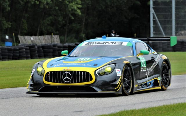 #80 Dan Knox/Mike Skeen (MERCEDES-AMG GT3).  [Dave Jensen Photo]