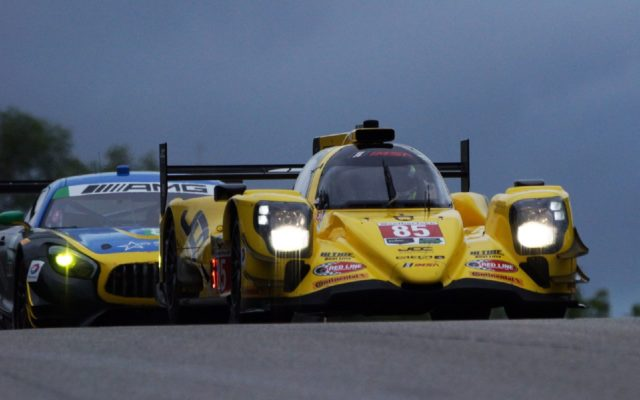 JDC-Miller Motorsports Oreca at speed.  [Jack Webster Photo]