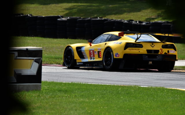 Corvette Racing Chevrolet Corvette C7.R driven by Antonio Garcia and Jan Magnussen.  [John Wiedemann Photo]