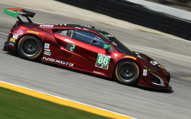 Michael Shank Racing Acura NSX GT3 driven by Oswaldo Negri Jr. and Jeff Segal.  [John Wiedemann Photo]